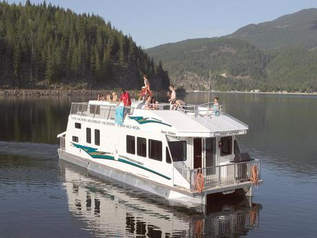 Hausboot Sicamous & Salmon Arm