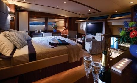 Yachten innenausstattung  Luxusyacht Sunseeker YACHT 34 M mieten Kroatien Mittelmeer ...