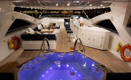 Luxusyachten innenausstattung  Luxury Yacht Sunseeker YACHT 34 M charter Croatia Mediterranean ...