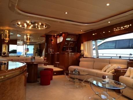 Luxusyachten innenausstattung  Luxusyacht Drettmann Elegance 76 mieten Kroatien Mittelmeer ...