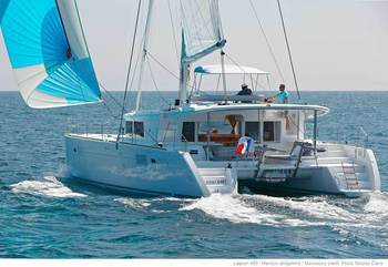 Catamaranes Antillas Menores