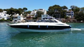 motorboot sunseeker 50 camargue mieten spanien mittelmeer mallorca charter motorboote chartern. Black Bedroom Furniture Sets. Home Design Ideas