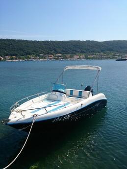 motorboot cobra 500 open mieten kroatien mittelmeer. Black Bedroom Furniture Sets. Home Design Ideas