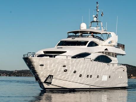Luxusyachten  Luxusyacht Sunseeker Sunseeker 105 Yacht mieten Kroatien Mittelmeer ...