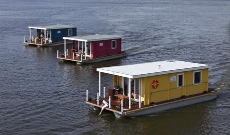 hausboot aquare bunbo 1000l mieten deutschland. Black Bedroom Furniture Sets. Home Design Ideas