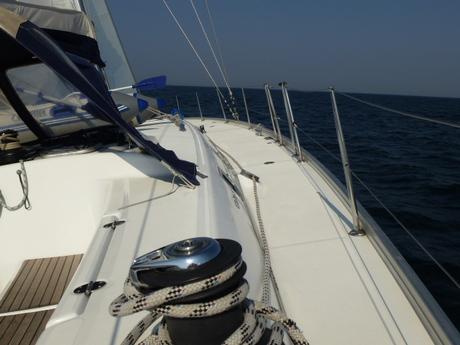 segelboot beneteau cyclades 50 5 mieten deutschland ostsee kieler bucht segeln charter. Black Bedroom Furniture Sets. Home Design Ideas