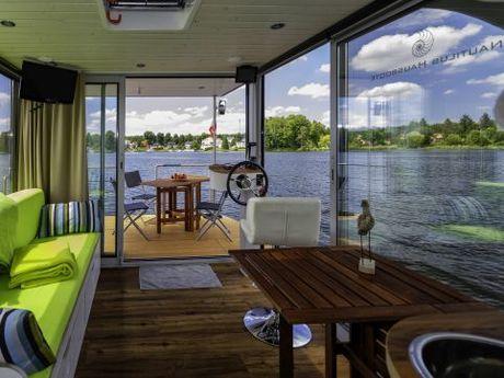 hausboot nautilus hausboote gmbh nautino maxi mieten deutschland binnengew sser mecklenburger. Black Bedroom Furniture Sets. Home Design Ideas